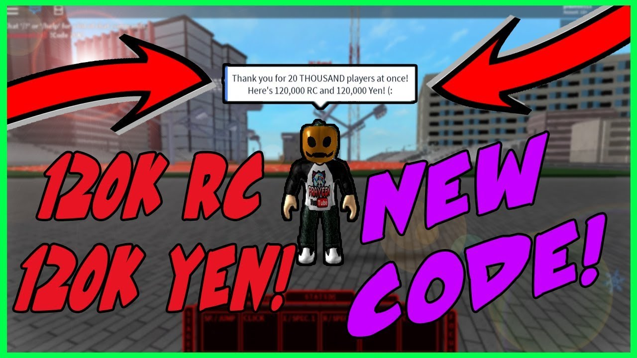 [CRAZY NEW CODE ] GIVES 120,000 RC AND 120,000 YEN IN RO-GHOUL   Roblox