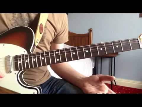 Easy Country Guitar Solo lesson with tabs