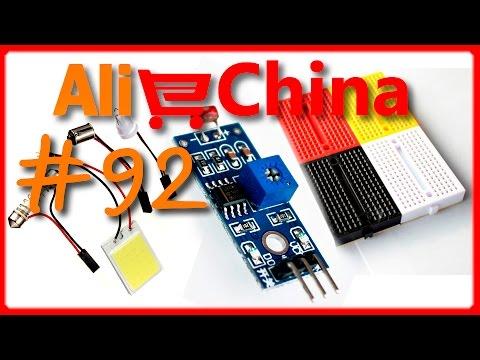 # 92 Светодиод  3W для ОСВЕЩЕНИЯ/ макетная ПЛАТА/ датчик ОСВЕЩЕННОСТИ для Arduino/ ПОСЫЛКА из Китая