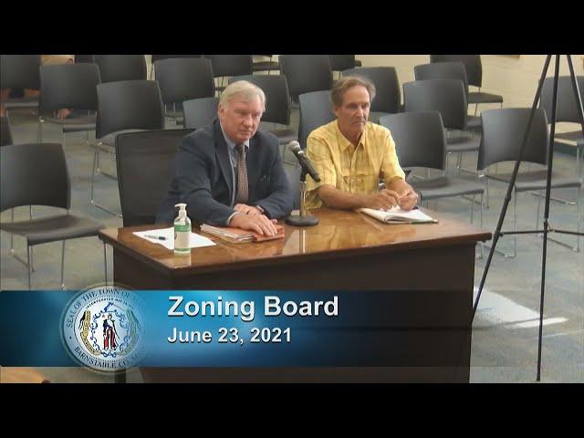 Zoning Board 6-23-21