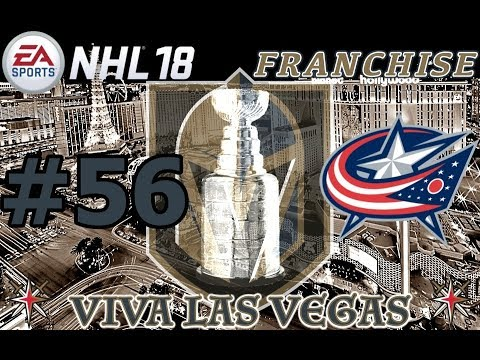 "NHL 18: Vegas Golden Knights Franchise #56 ""STANLEY CUP"""