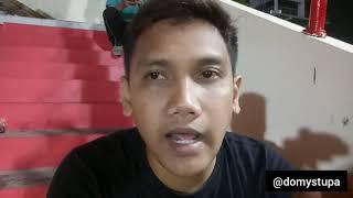 #DOMYSTUPAVLOG89 BHAYANGKARA FC VS SEMEN PADANG, ANTHEM SUPORTER TAMU BERKUMANDANG !