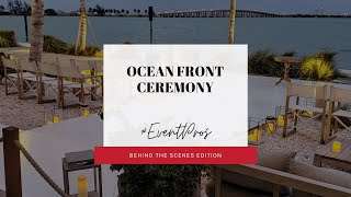 Ocean Front Wedding Ceremony