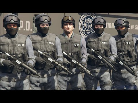 How To Join the SWAT Team in GTA 5! (Rescue Missions)