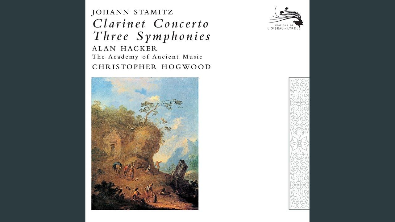 Stamitz: Clarinet Concerto In B Flat