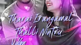 Usuraiye Tholachen Unakkula Song Whatsapp Status Video 💙 Album Song. Trend Bgm