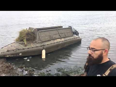How To Grass A Duck Boat Part 2 (stuffing)