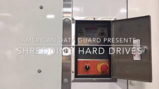 Hard drive destruction by ADG