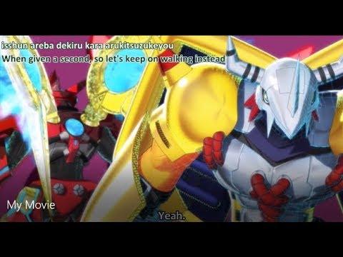 Digimon Universe Episode 45: Wargreymon + Globemon vs Uratechmon