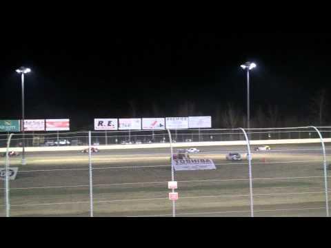 Magnolia Motor Speedway Street Stock Heat #2 3/3/12