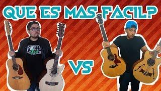 Que es más Fácil tocar Bajoquinto o Guitarra? Ft. Elmagallanes