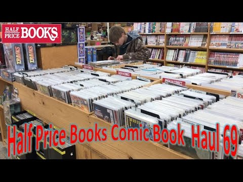 Half Price Books Comic Book Haul 69 | First Haul of 2017 From St.Louis!