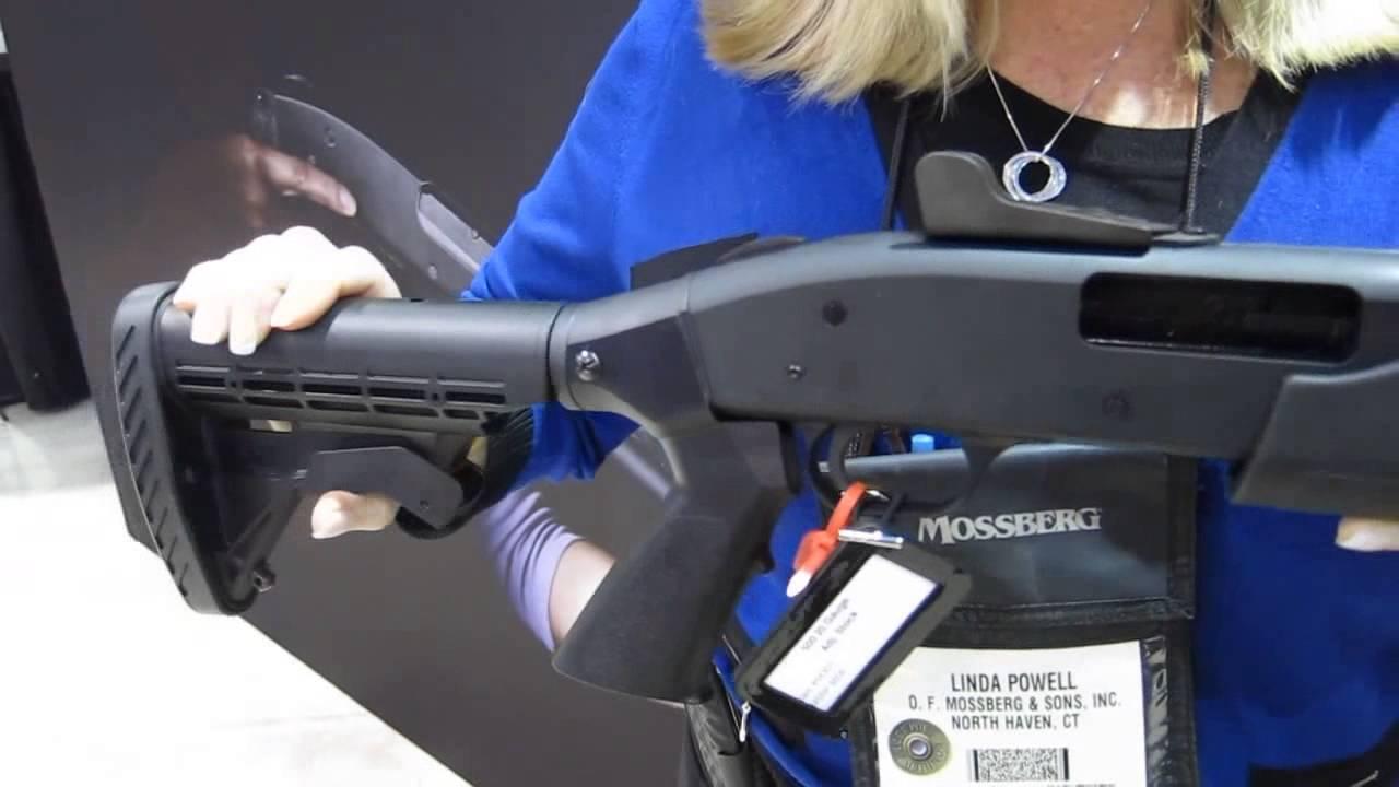 Mossberg 500 20 gauge home defense shotgun at SHOT Show 2013