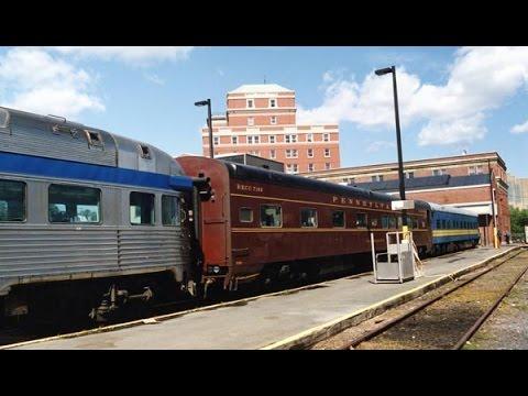 Private railcars on VIA trains in Nova Scotia part 1