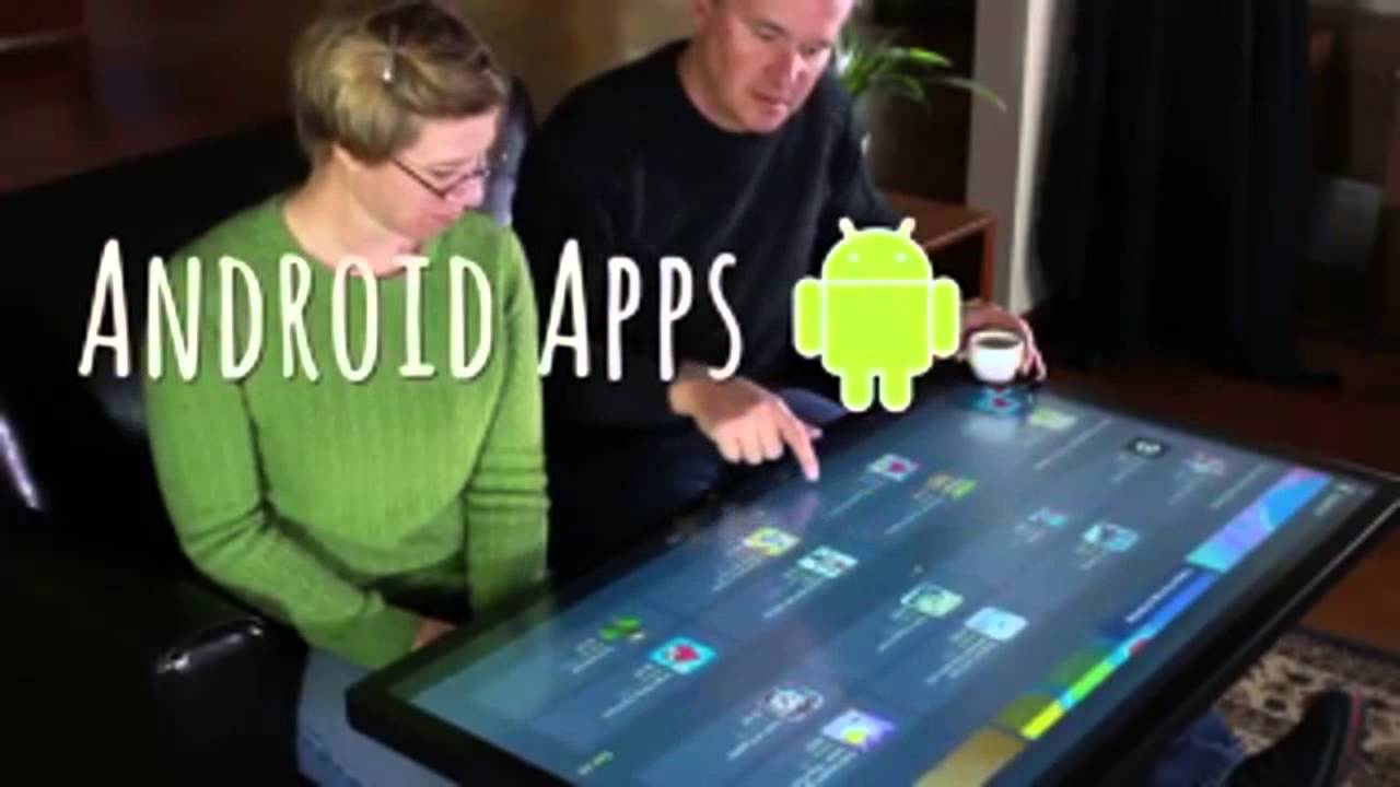 Multitouch Coffee Table With Android YouTube - Android coffee table
