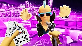 I ROBBED WHACKY and WON THE GAME in Pokerstars VR!