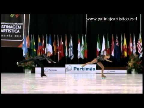 Laura Marzocchini & Enrico Fabbri.SP.Parejas de Artístico.Mundial 2010