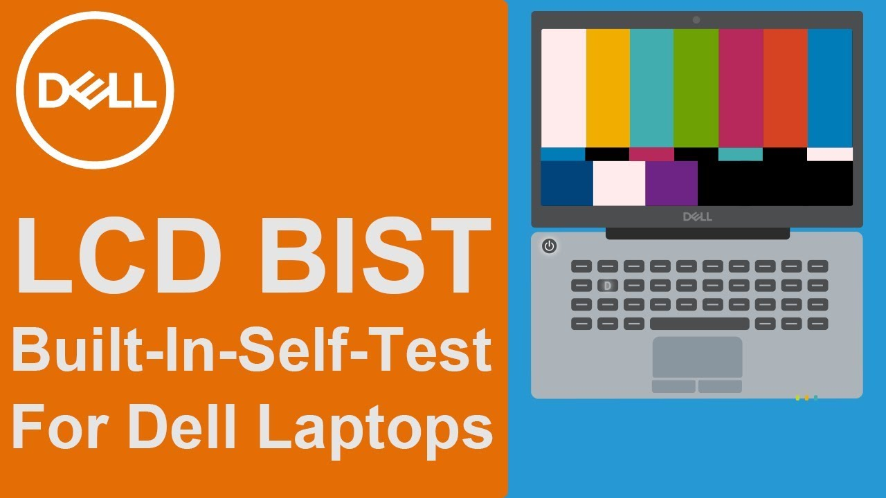 Lcd Bist Official Dell Tech Support Youtube