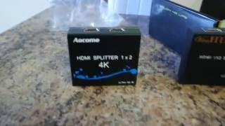 SPLITTER HDMI  -  Unboxing en español
