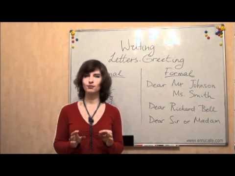 Английский язык письмо