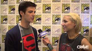Comic-Con 2014: Grant Gustin on Being 'The Flash' Thumbnail