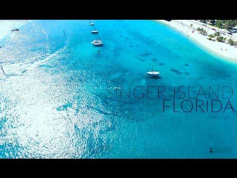 Singer Island, Ocean Reef Park   Aerial Florida In 4K