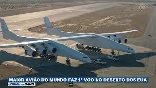 Baixar Maior avião do mundo faz 1º voo nos EUA