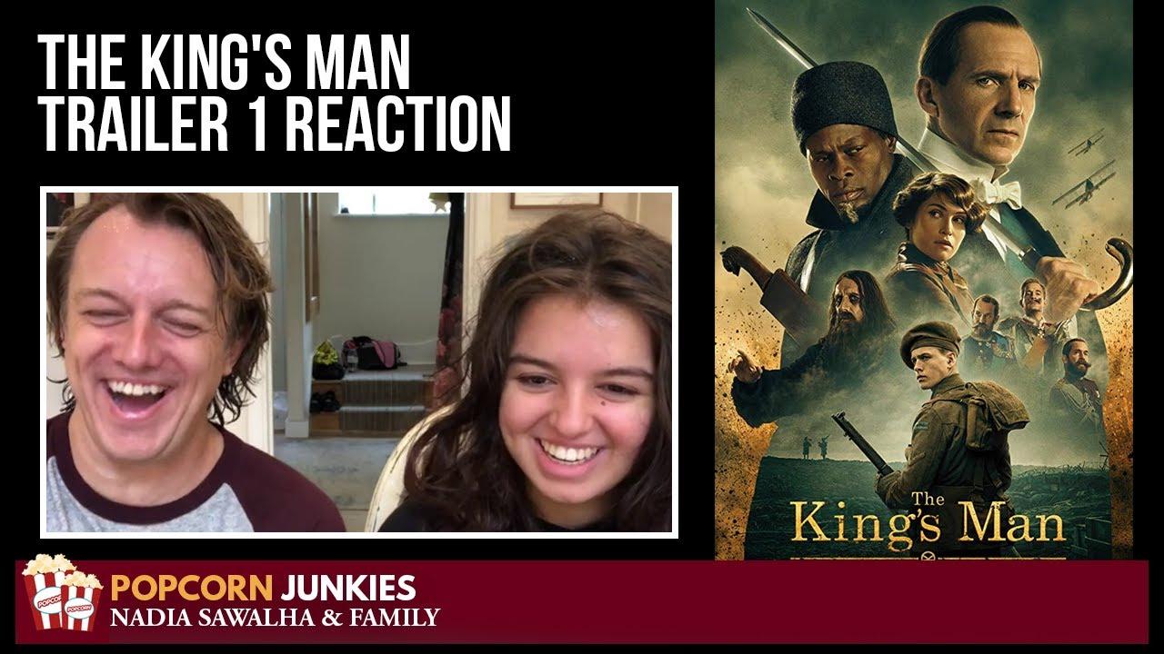 Download The King's Man TRAILER 1 - Nadia Sawalha & The Popcorn Junkies REACTION