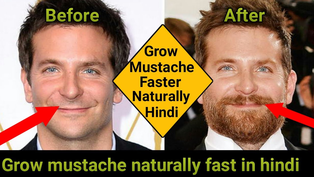 Grow Mustache Naturally Fast In Hindi Best Ways To Grow Your