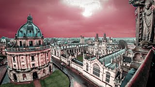 Тайны Оксфорда. Обзор Оксфордского Университета (University of Oxford). Съемки Гарри Поттера