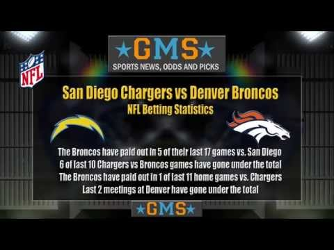 San Diego Chargers vs Denver Broncos | Odds, Picks and Predictions
