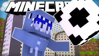 BlueVacktor Plays Soccer! | Minecraft Soccer with SkyDoesMinecraft!