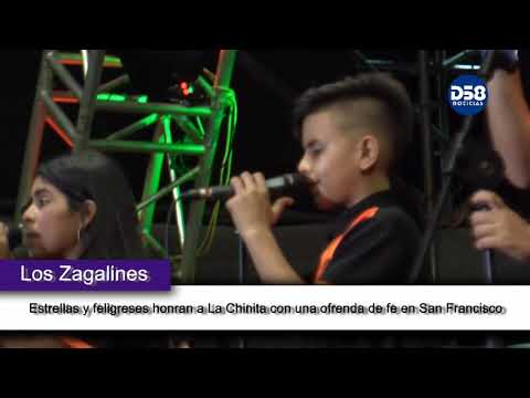 Estrellas y feligreses honran a La Chinita con una ofrenda de fe en San Francisco
