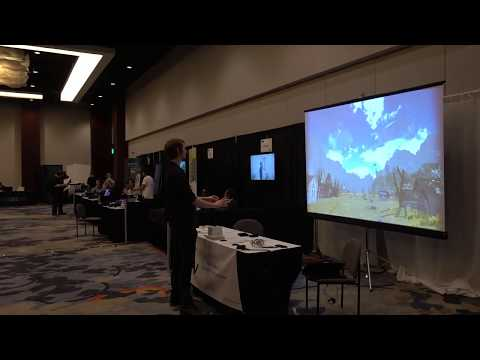 Autodidactic I's VR Without Headsets at VRDC 2017