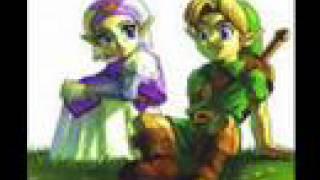 Zelda Ocarina of Time Music- Saria