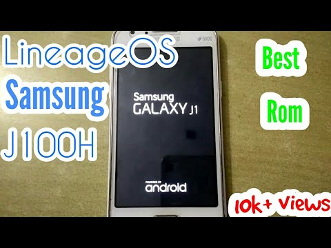 LINEAGE OS 11 for || SAMSUNG GALAXY J1 SM J100H || (CUSTOM ROM) ||HOW TO  Install FULL TUTORIAL