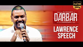 Raghava Lawrence's Speech – Darbar Audio Launch