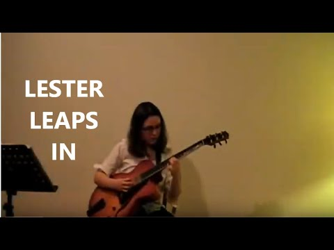 Alicia Marie – Lester  Leaps In