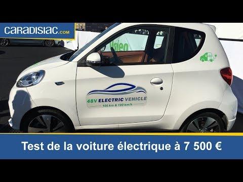 Caradisiac a essayé la voiture électrique de Valeo à 7 500 €