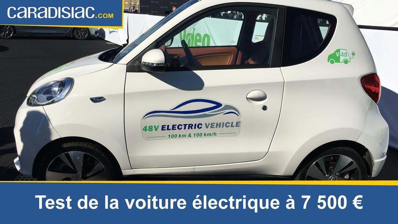 test voiture electrique