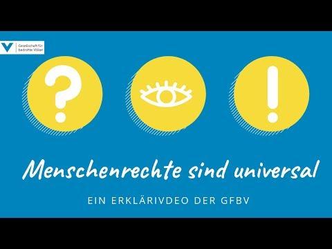 GfbV Erklärt: Warum Menschenrechte Universal Gültig Sind