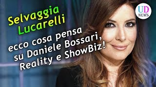 Selvaggia Lucarelli: ecco cosa pensa  su Daniele Bossari,  Reality e ShowBiz!