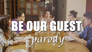 be our guest parody throwback