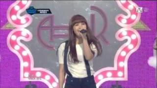 [HD] Performance 111208 A Pink - My My ( Comeback 4th Stage )