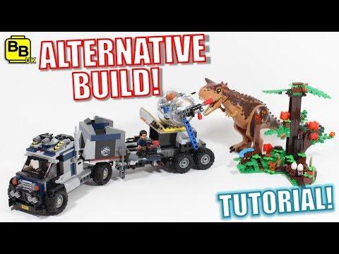 LEGO JURASSIC WORLD 75929 ALTERNATIVE BUILD DINORIG