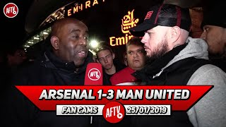 Arsenal 1-3 Man United | Petr Cech Should Just Retire Now!! (DT Rant)