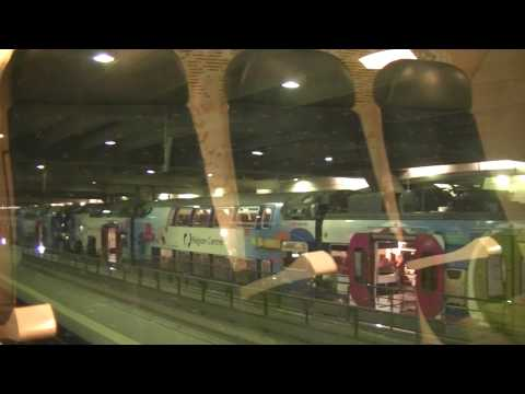 Train trajet de Versailles- Chantiers à Paris-Montparnasse