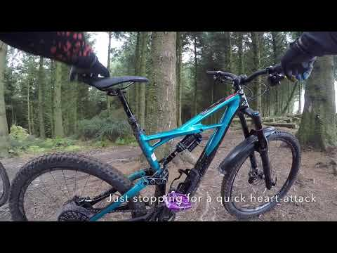 Coed Llandegler part 2 stabilised footage RHP MOUNTAIN & TRAIL