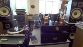 Denon DP-61F & VictorLab PhonoStage, ANNA Audio GU-48 SE Amp, Trio LS-505