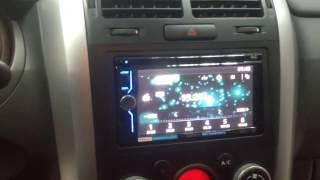 Установка магнитолы 2 din в Suzuki Grand Vitara
